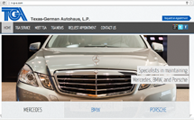 Texas-German Autohaus - Site by Media A-team